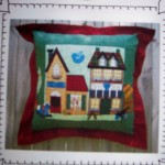 CUSHION 'TOYS & BRIC A BRAC' - HOOLEY DOOLEY DESIGN PATTERN