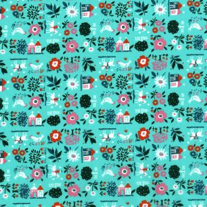 Everything but the kitchen sink - RJR fabrics - Farm Fresh- Jadeite - 2962-3