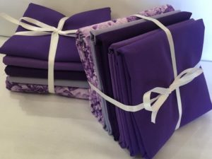 PURPLE FABRIC BUNDLE