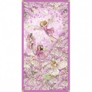 FLOWER FAIRIES - PETAL FLOWER FAIRIES PANEL - PINK