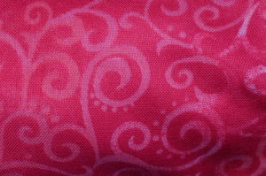 OMBRE SCROLL - WIDE BACK - PINK