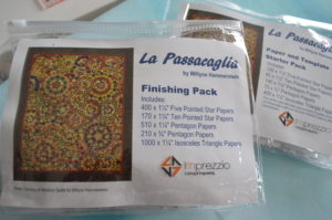LA PASSACAGLIA - KIT - PAPERS AND TEMPLATES