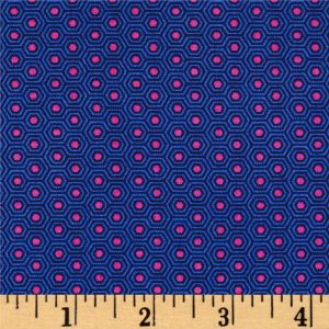 TULA PINK - SLOW AND STEADY - PWTP091 - BLUE RASPBERRY