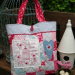 PATTERN - A LITTLE BIRDIE - BAG - THE RIVENDALE COLLECTION