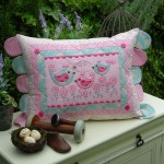 PATTERN - BEST FRIEND BIRDIES - CUSHION - THE RIVENDALE COLLECTION