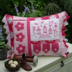 PATTERN - BRIAR BIRDS - CUSHION - THE RIVENDALE COLLECTION