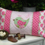 PATTERN - MRS PENNYFEATHER - CUSHION - THE RIVENDALE COLLECTION