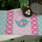 PATTERN - STICKYBEAK - TABLE RUNNER - THE RIVENDALE COLLECTION
