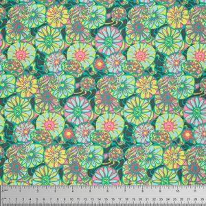 Amy Butler - True Colours - Daisy Shine-Citrus - PWTC025-1