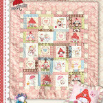 Fairy Garden cot Quilt and Cushion