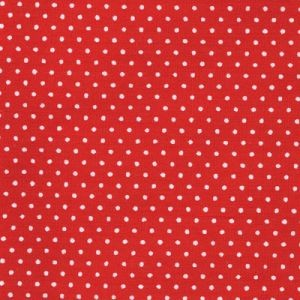 RED SPOTTED COTTON - 88190 1-10